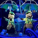 【ディズニーランド】雨の日限定のパレードを楽しもう!