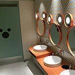 混雑時でも比較的空いている穴場のトイレの場所!
