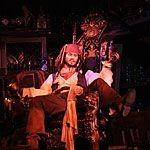 【ディズニーランド 】カリブの海賊のジャック・スパロウを見逃すな!