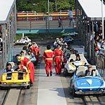 グランドサーキットレースウェイの撮影はトゥーンタウン入口手前